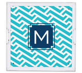 Personalized Lucite Tray, Square: NEW PATTERNS & STYLES