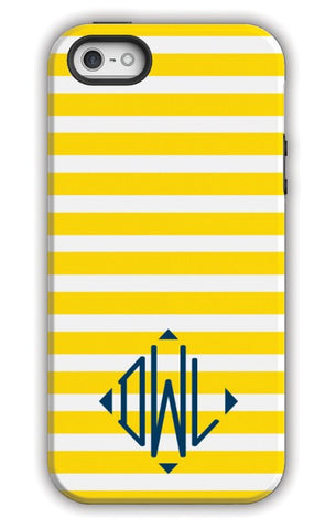 Personalized Cell Phone Case, Cabana Pattern