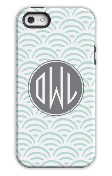 Personalized Cell Phone Case, Ella Pattern