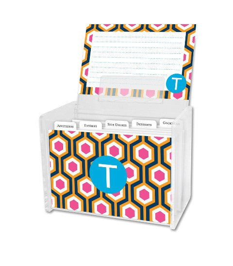 Personalized Recipe Box & Cards: NEW PATTERNS & STYLES