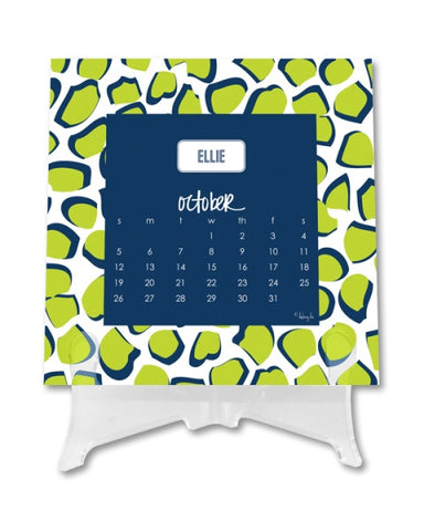 Personalized Desk Calendar: NEW PATTERNS & STYLES
