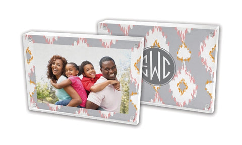 Personalized Lucite Frame: NEW PATTERNS & STYLES