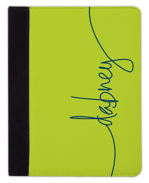 Personalized iPad & Laptop Cases, Chartreuse
