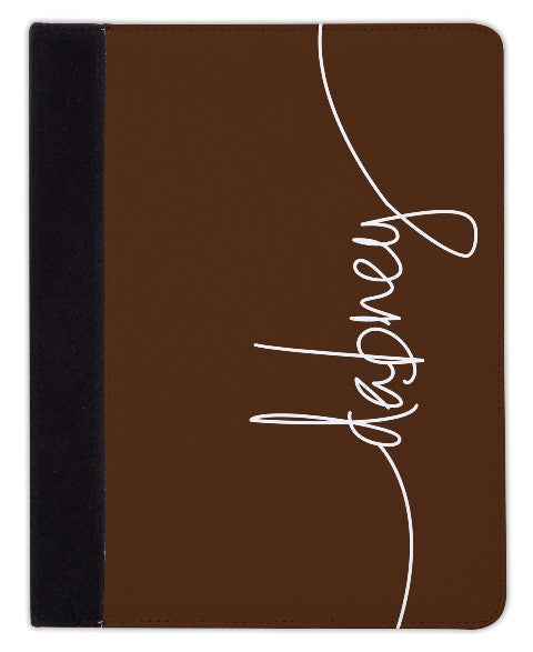 Personalized iPad & Laptop Cases, Chocolate