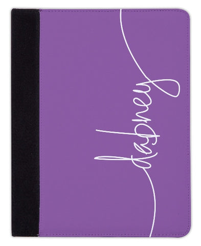 Personalized iPad & Laptop Cases, Eggplant