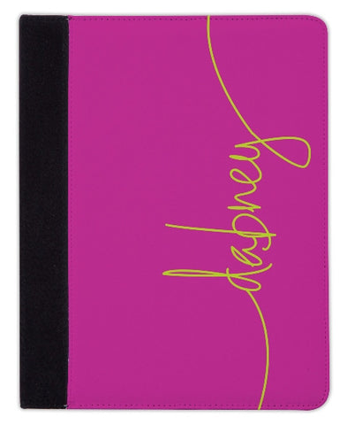 Personalized iPad & Laptop Cases, Fuchsia