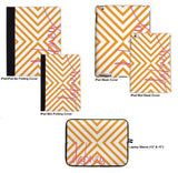 Personalized iPad & Laptop Cases, Sunset Beach Pattern