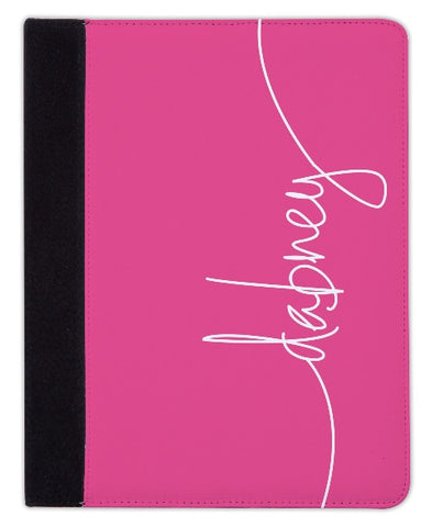 Personalized iPad & Laptop Cases, Hot Pink