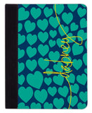 Personalized iPad & Laptop Cases, Love Struck Pattern