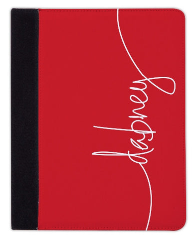 Personalized iPad & Laptop Cases, Red