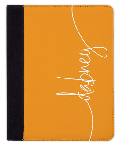 Personalized iPad & Laptop Cases, Tangerine