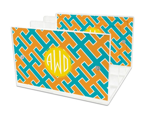 Personalized Letter Tray: NEW PATTERNS & STYLES