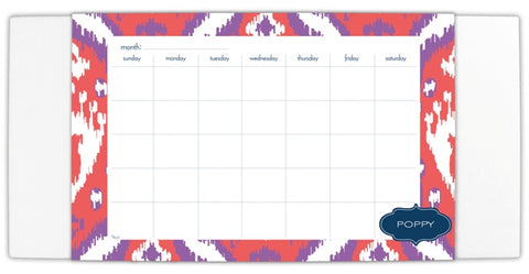 Personalized Desk Blotter with Pad: NEW PATTERNS & STYLES