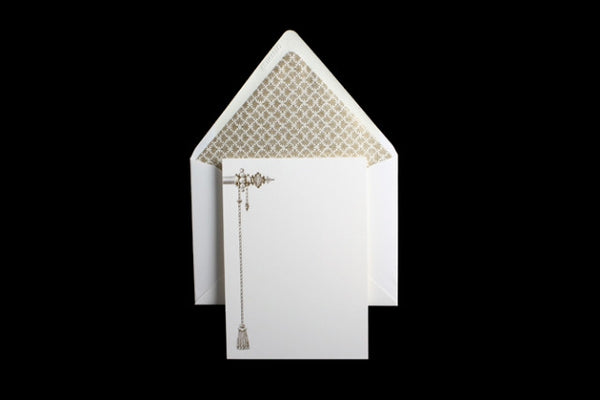 """Tassel"" Stationery Boxed Set"