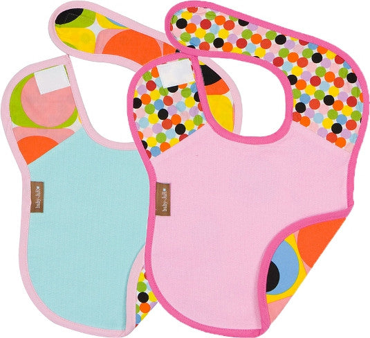 """Modern Girl"" Bib Set"