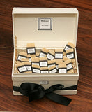 Personalized Individual Guest Soaps, White Box