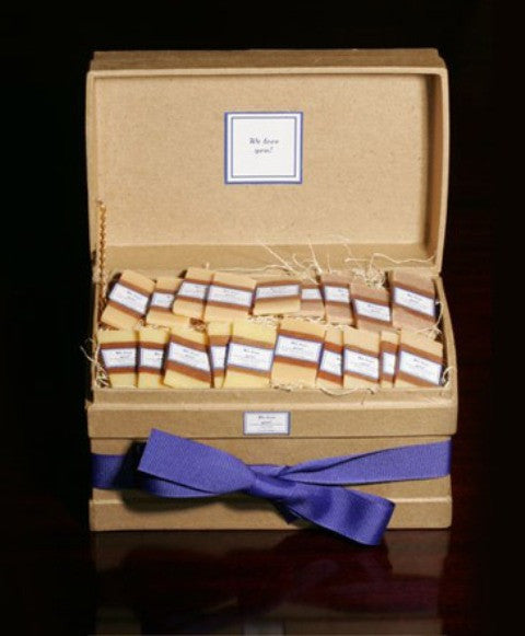 "Personalized Individual Guest Soaps, ""Classic"" Box"