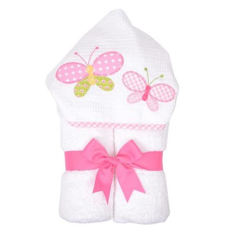 "Butterfly Kisses Hooded ""Everykid"" Towel"