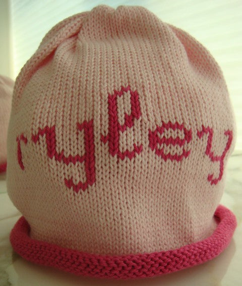 Personalized Scribble Script Beanie (Children's)