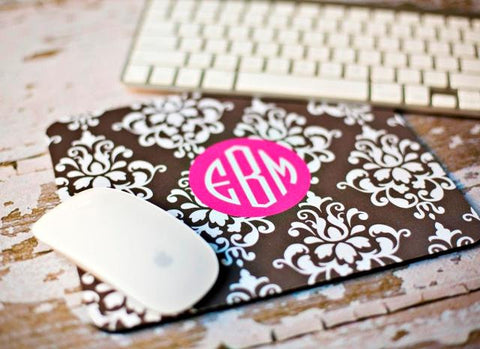 Personalized Mouse Pad (Monogram)