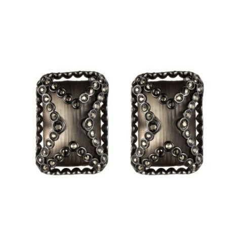 Jewel Encased Clip Earring