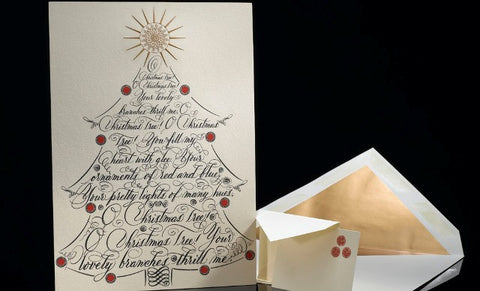 O Christmas Tree Grand Statement Card