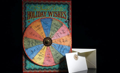The Wonderful Card of Holiday Wishes