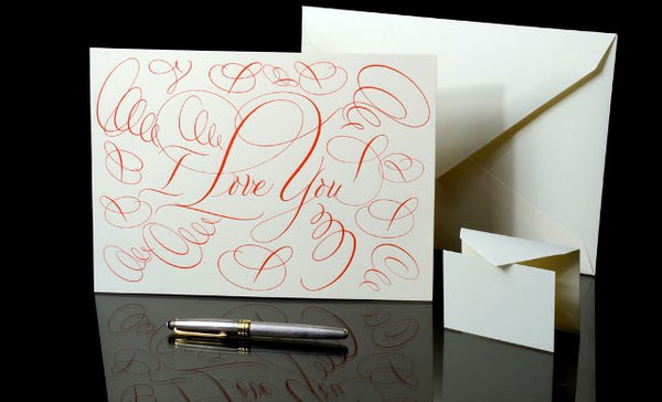 """I Love You"" Grand Statement Card"