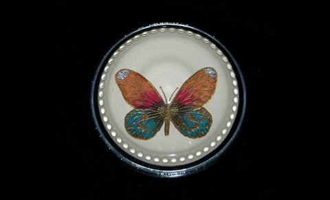 Hand Painted Butterfly Paper Weight