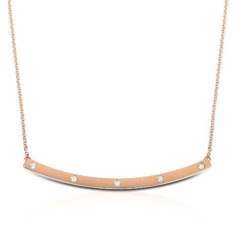 Diamond High Five Necklace