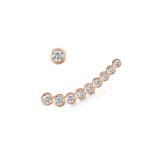 Diamond Cinderella Earring Set