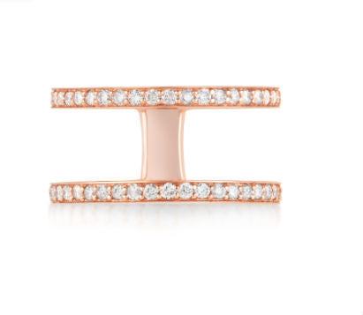 Diamond Mini Mikaela Ring