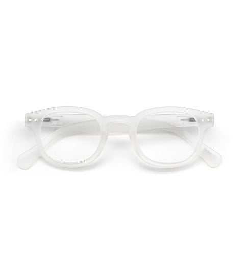 Let Me See Reading Glasses, White Crystal