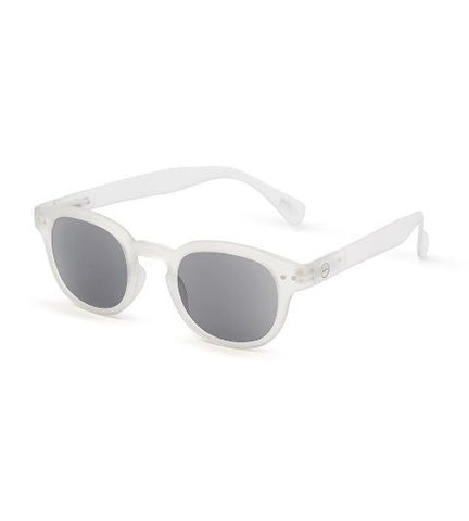 Let Me See Sunglass Readers, White Crystal