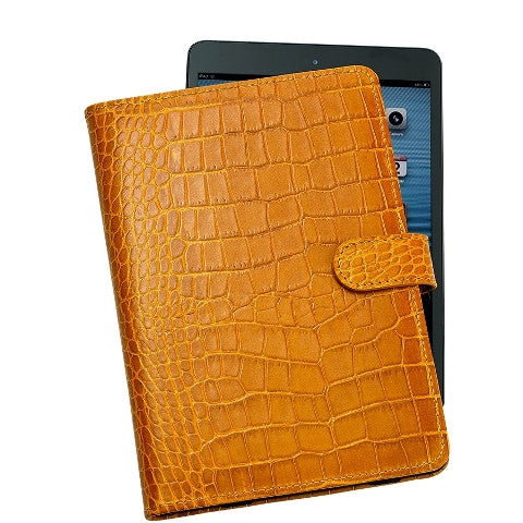 Personalized iPad Mini Crocodile Embossed Case (3 Color Choices)
