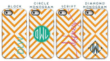 Personalized Cell Phone Case, Coins Pattern