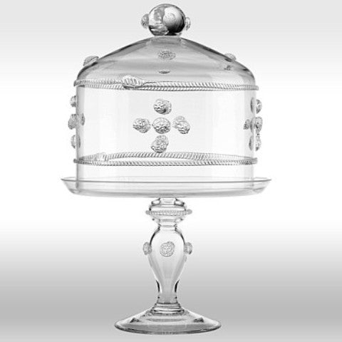 Isabella Cake Dome & Pedestal Set, Medium