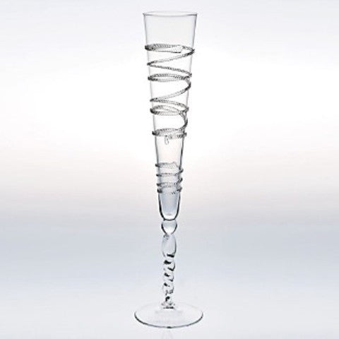 Victoria Tall Champagne Flutes, Set of 2