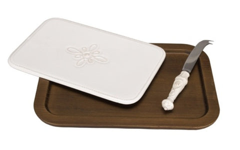 Cheeseboard & Knife Set, Jardins Du Monde