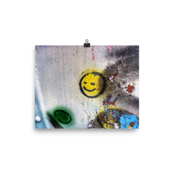 #SMILE PHOTOGRAPHY PRINT