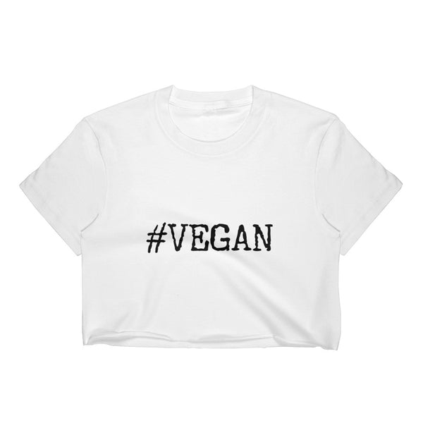#VEGAN CROP TOP
