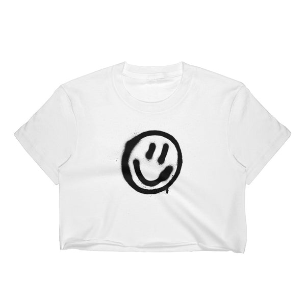 #SMILE CROP TOP