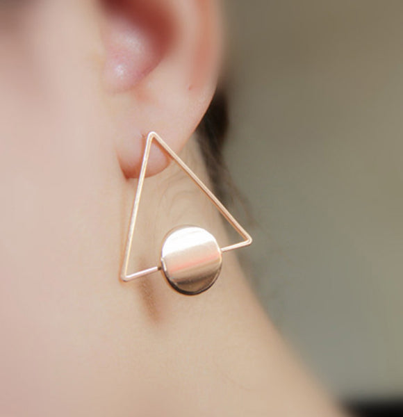 Baublebeads Triangle Stud Earrings