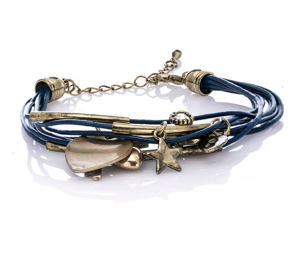 Lori Lock and Key Bracelet