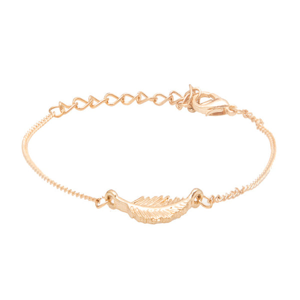 Lorelei Gold Leaf Bracelet