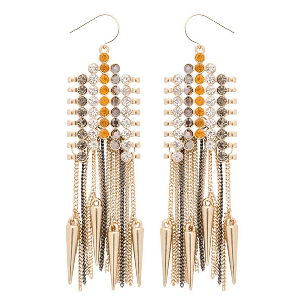 Disco Pendulum Drop Earrings