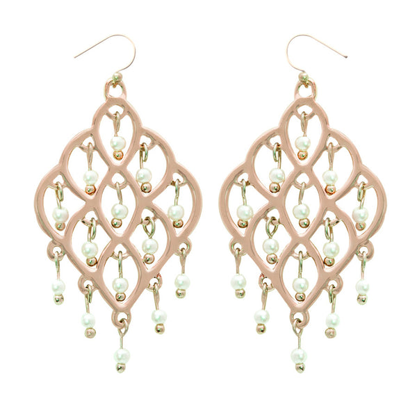 Taj Lattice Drop Earrings