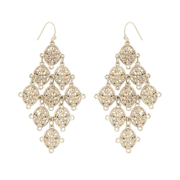 Vintage Chandelier Drop Earrings