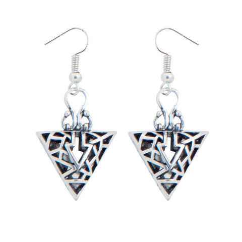 Aisha Cutwork Drop Earrings