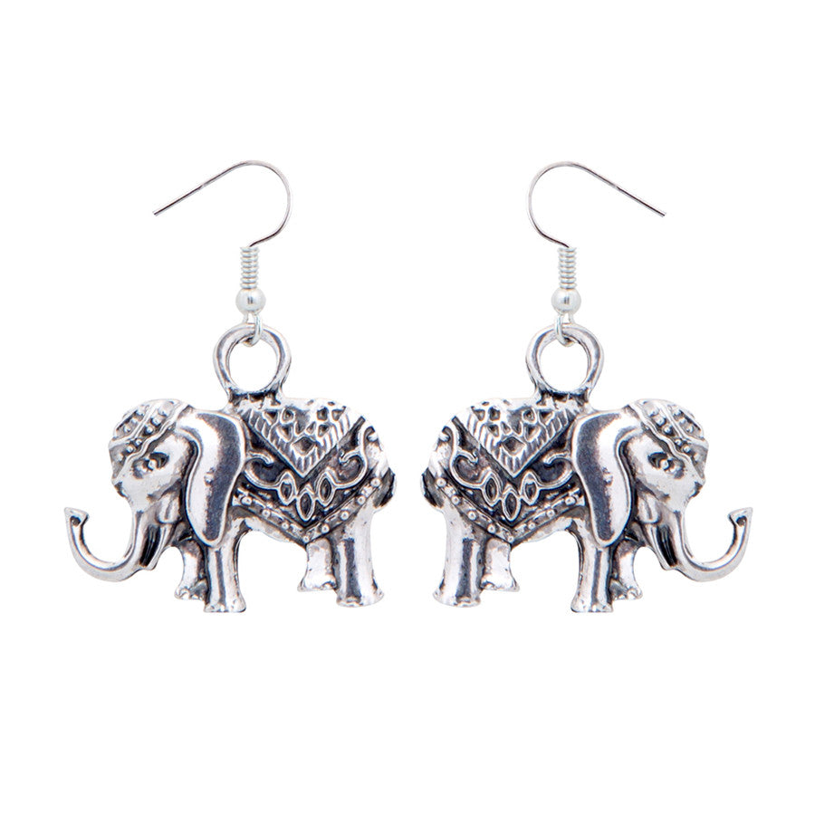 Queenie Jumbo Drop Earrings